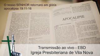 O nosso SENHOR retornará em glória - apocalipse 19:11-16