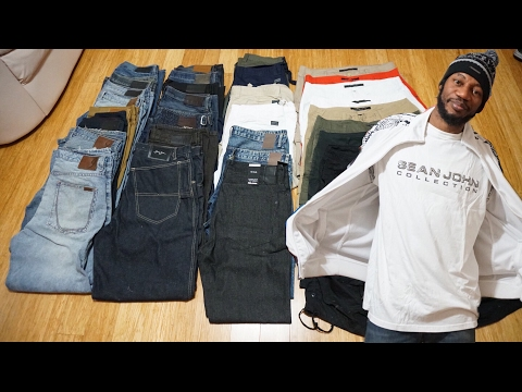 Sean John Jeans Collection W/ Over 30 Pairs