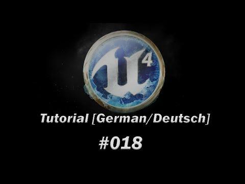 Unreal Engine 4 Tutorial [German/Deutsch] - Third-Person Shooter part 1 - #018