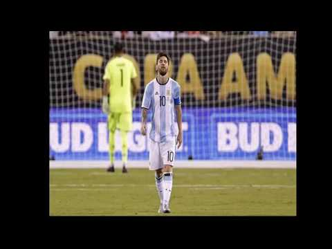 Lionel Messi Emotional Moments Of Copa America 2016 Final