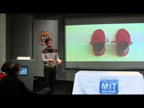 Creating SuperShoes: Dhairya Dand at K12Live! (MIT Museum Second Fridays, 1-10-14)