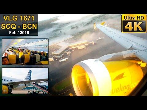 FLIGHT EXPERIENCE | Santiago - Barcelona | VUELING A320