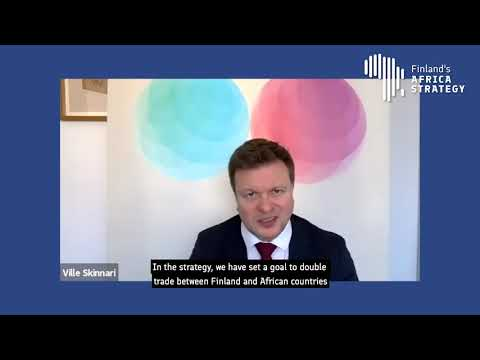 The launch event of Finland's Africa Strategy