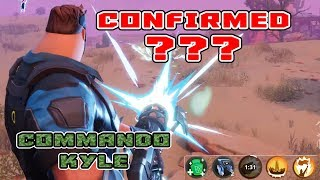 Commando Kyle??? Fortnite STW Skin system?? Dragon Kyle - Shamrock Kyle - Is this Confirmed???