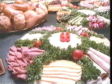 1980s kroger holiday christmas commercial party tray