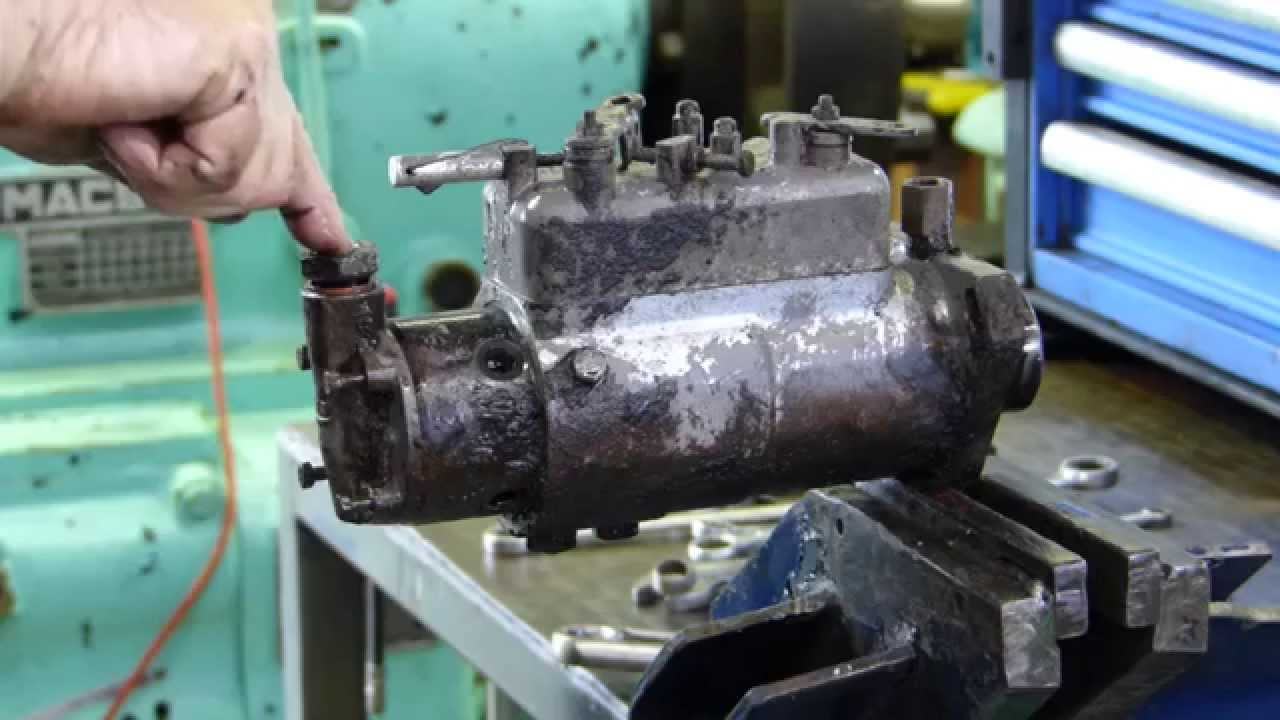 cav injection pump full strip down to re seal and stop fuel leaks youtube [ 1280 x 720 Pixel ]