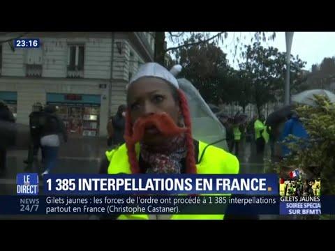 Gilets jaunes: des manifestations dans toute la France
