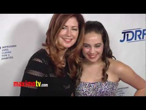 Dana Delany and Mary Mouser BODY OF PROOF at JDRF 9th Annual Gala Event Arrivals