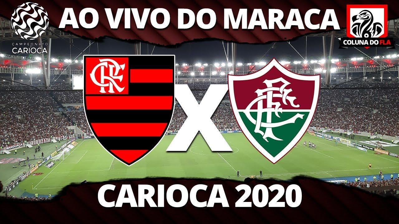 2ª Parte Flamengo X Fluminense Ao Vivo Do Maracana Carioca 2020