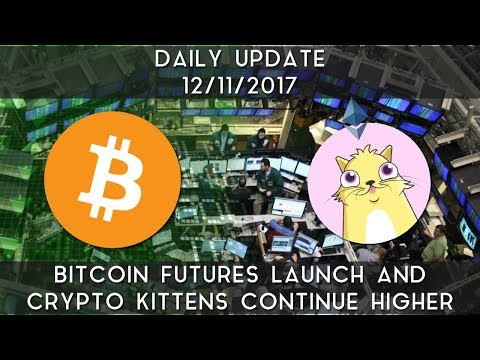 Daily Update (12/11/17) | Bitcoin futures launch and Crypto Kittens continue higher
