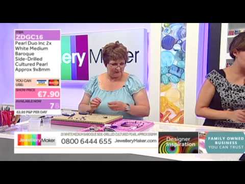 Beading Techniques and Textiles [Tutorial]: Jewellery Maker 12/07/14
