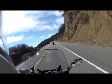 2 Joe's 2 FJR's In Malibu. Video