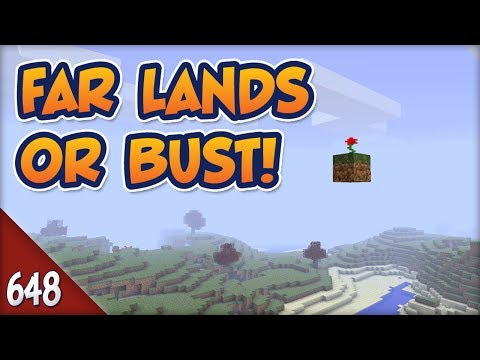 Minecraft Far Lands or Bust - #648 - Grocery Delivery