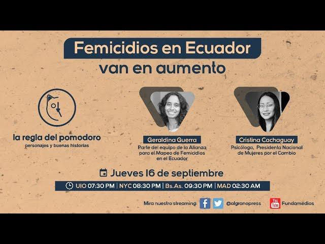 Femicidios en Ecuador van en aumento