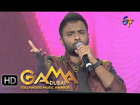 Sailaja Sailaja Song - Hemachandra Performance in ETV GAMA Music Awards 2015 - 20th March 2016