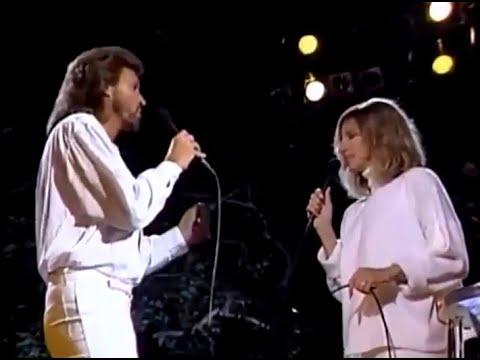Barbra Streisand & Barry Gibb - Guilty - Live 1986 HQ - (With Lyrics) ▶4:33