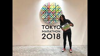 Tokyo Marathon 2018 and Japan trip Raquel Holgado