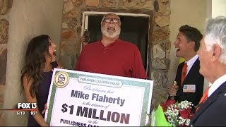 A Bay Area man has a million reasons to smile this Friday. He just ...