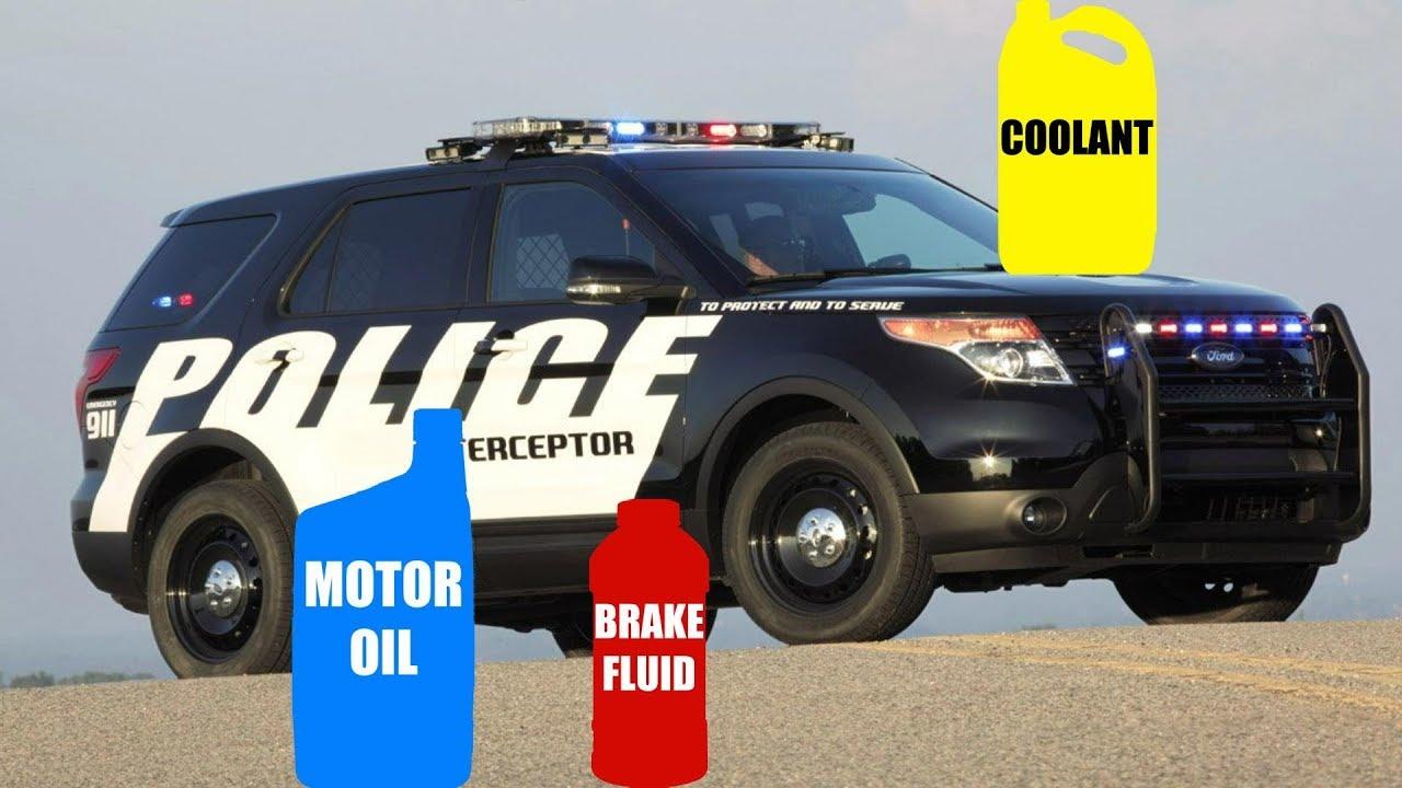Motor oil fluid types for ford explorer police for Motor oil for ford explorer