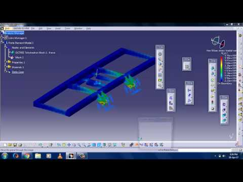 Generative Structural Analysis In Catia V5