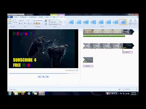 HowTo: Edit a video like a PRo using [Windows Movie Maker]