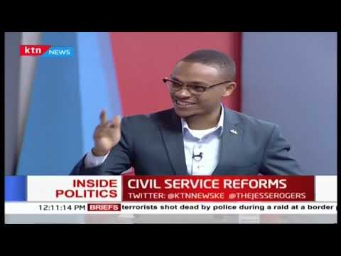 Inside Politics: New reforms in the public service
