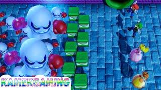 Super Mario Party MiniGames Mario vs Luigi vs Peach vs Daisy Master Difficulty