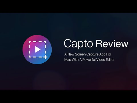 Capto Review - The best screen capture app for Mac