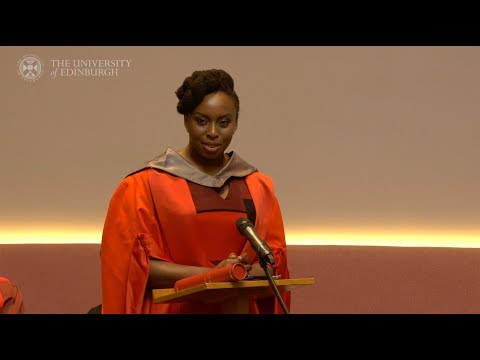 Acclaimed Nigerian author Chimamanda Ngozi Adichie receives honorary degree