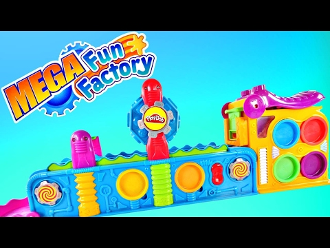 Thumbnail: Play Doh Mega Fun Factory Machine The Playdough Power Tool! Toy Playdoh Videos