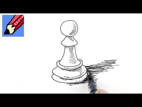 How to draw a Pawn Real Easy