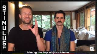 Pyramid Breathwork, Creation Meditation & Priming the Day with Johann Urb and guest Adam Brawer