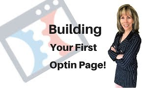 Clickfunnels Tutorial How To Build An Optin or Squeeze Page To Your Funnel
