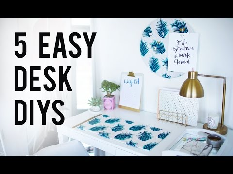 5 EASY DIY Desk Decor &amp; Organization Ideas | ANN LE<a href='/yt-w/h28Slk0B4Q8/5-easy-diy-desk-decor-amp-organization-ideas-ann-le.html' target='_blank' title='Play' onclick='reloadPage();'>   <span class='button' style='color: #fff'> Watch Video</a></span>