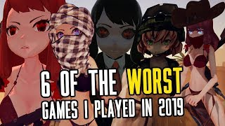 6 Of The Worst Games I Played In 2019