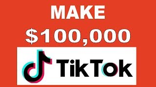 How To Make $100,000 On TIK TOK Without Recording Videos