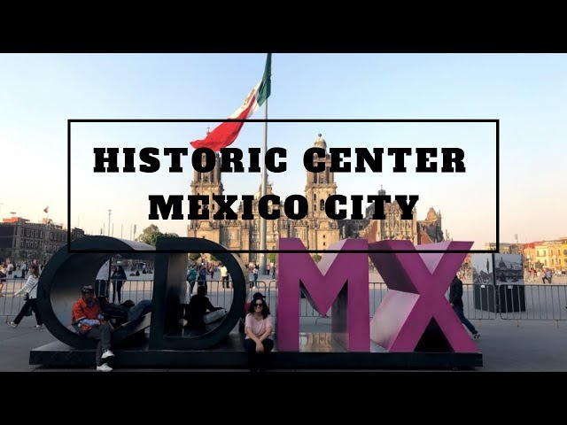 HISTORIC CENTER, MEXICO CITY - A walking tour of the neighborhood