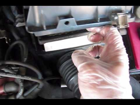 Mazda 626 Air Filter replacement - YouTube