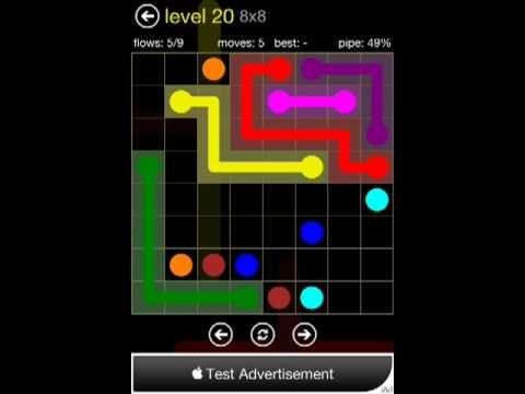 Flow 8x8 Level 20 (Regular Pack)