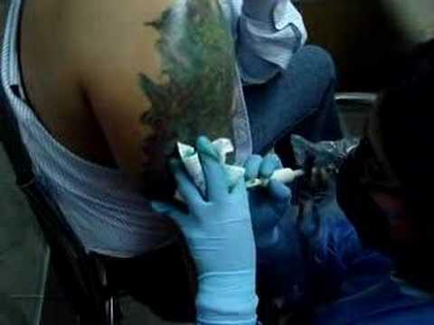Retoque De Un Tatuaje Youtube