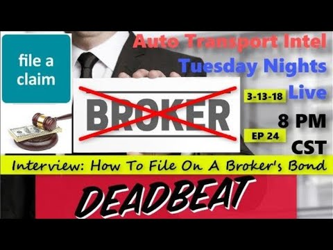 Broker Not Paying?! How To File A Claim Against The Broker Surety Bond