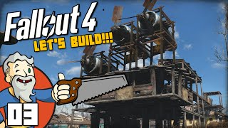 """MY WIND POWERED MANSION!!!"" Fallout 4 LET"