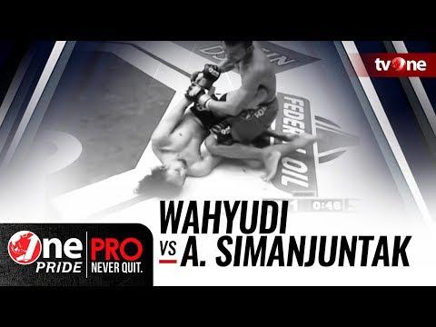One Pride MMA #2: Wahyudi VS Alex Simanjuntak
