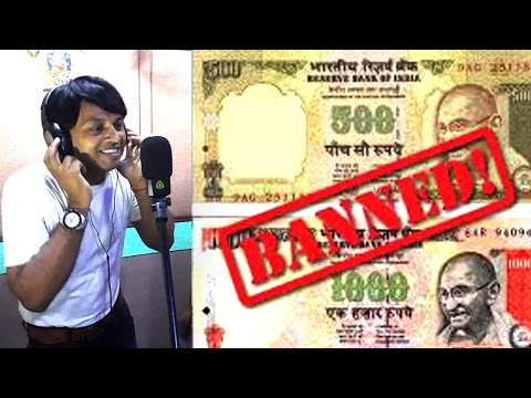 1000 500 Note Band Kaile Modi Ji || चोरावल सारा पैसा || Sanjay Chhaila || 1000 500 Note Ban In India