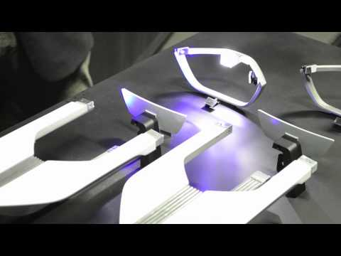 BMW Laser Headlamp Demonstration