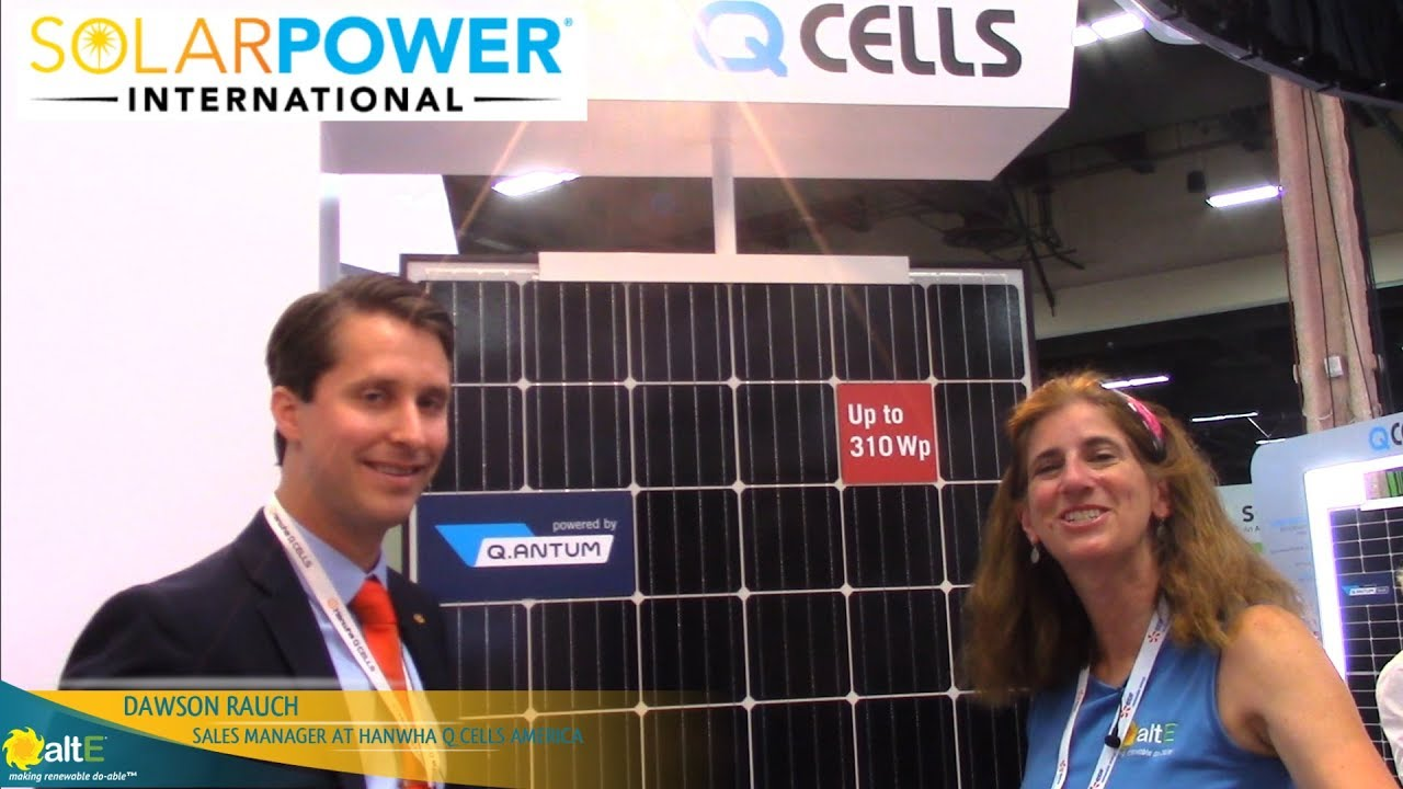 Q Cells Q ANTUM Solar Panels | altE