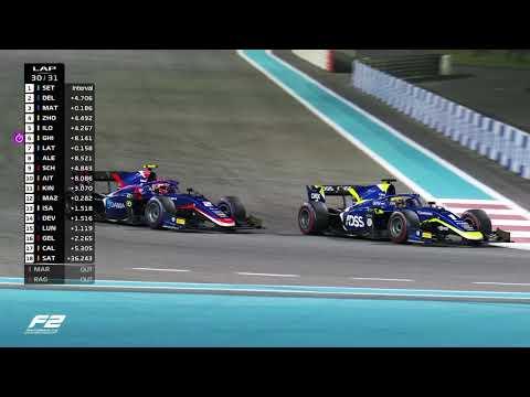 Formula 2 Feature Race Highlights   2019 Abu Dhabi Grand Prix