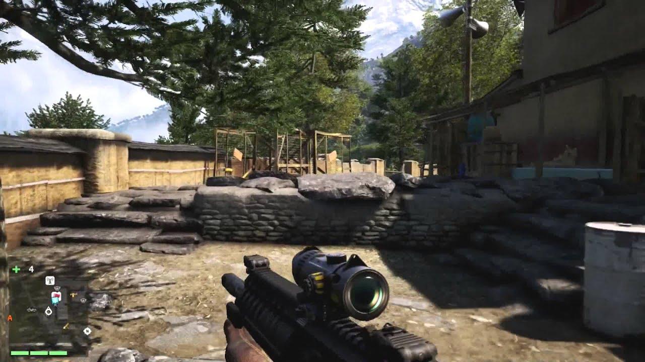 Far Cry 4 Gameplay Walkthrough Part 35 White Bengal Tiger