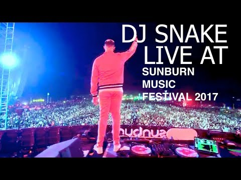 Dj Snake Live At Sunburn Music Festival 2017 Pune, India | Full HD Live Set