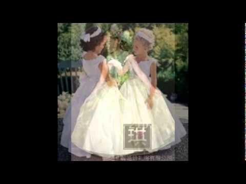flower girls wedding dresses